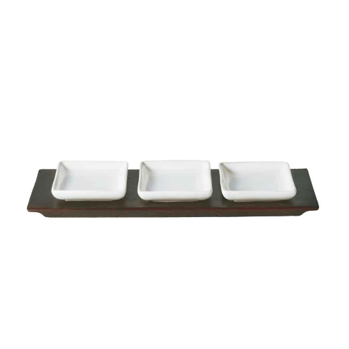 Jan Barboglio Tray with 3 Plates