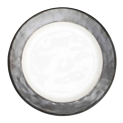 Juliska Emerson Pewter Dinner Plate