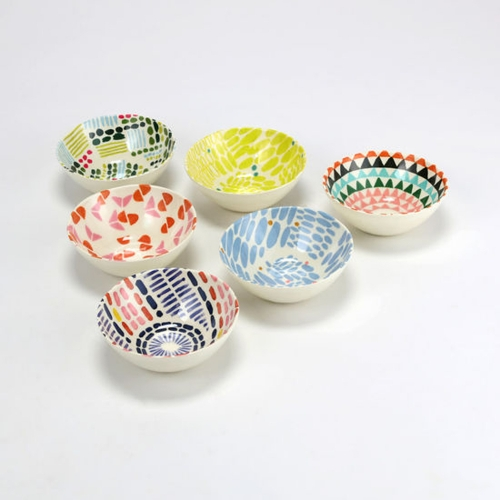 Melamine Patterned Bowl