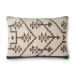 Ellen Degeneres Slate Navy Tribal Design Pillow