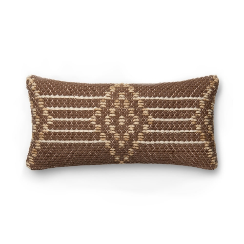 Ellen Degeneres Brown Multi Flying Diamond Pillow